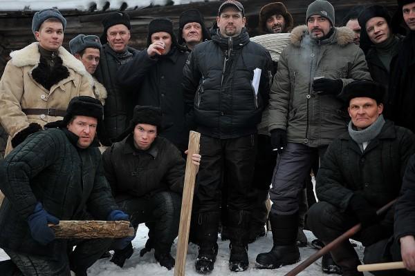 """Съемки проекта """"Сучья война"""""""